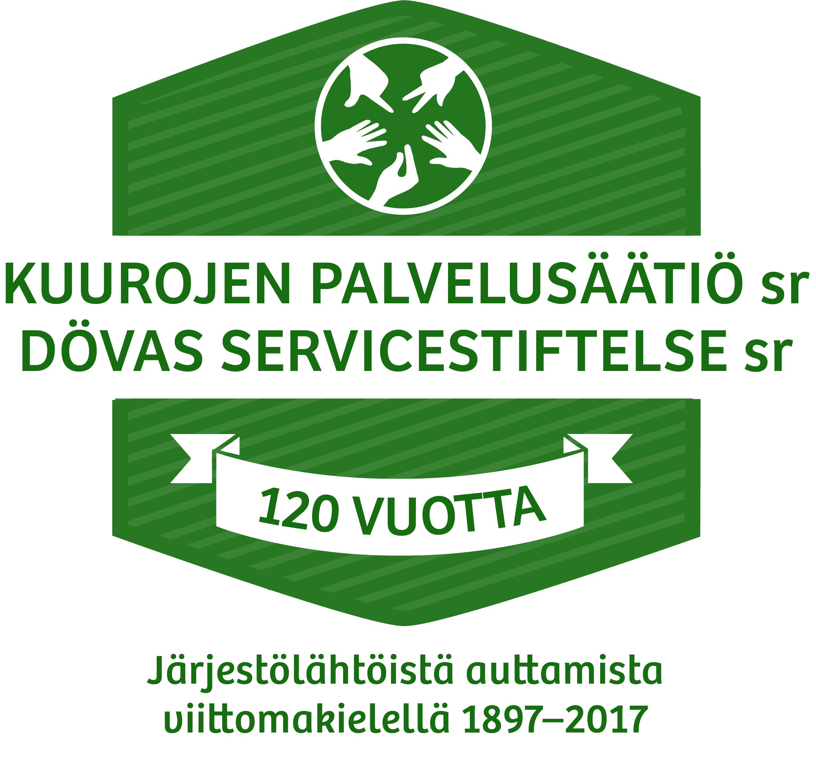 Kuurojen Palvelusäätiö on auttanut Suomessa järjestölähtöisesti vuodesta 1897.