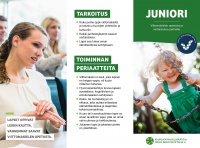 Juniori-ohjelman esite pdf-tiedostona.