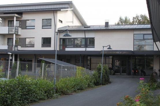 Palvelukeskus Sampola Hämeenlinnassa.