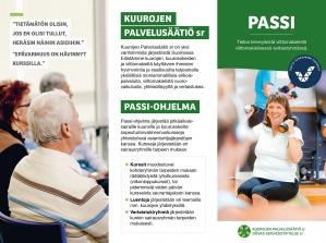 PDF-muodossa oleva esite, jossa kerrotaan Passi-ohjelmasta