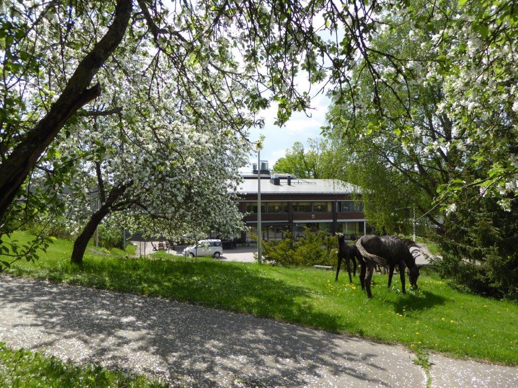 Palvelukeskus Åvik sijaitsee kulttuurihistoriallisesti arvokkaassa maisemassa.