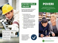 PDF-muodossa oleva esite, jossa kerrotaan Poveri-hankkeesta.