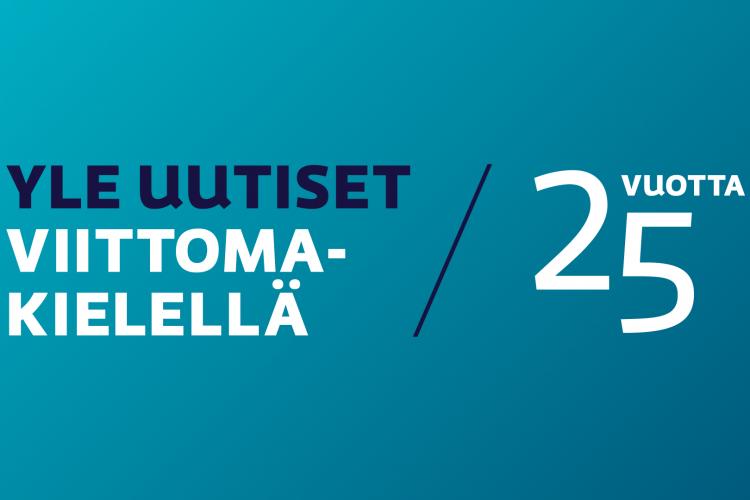 Yle Viittomakieliset Uutiset Täyttää Tänään 25 Vuotta!