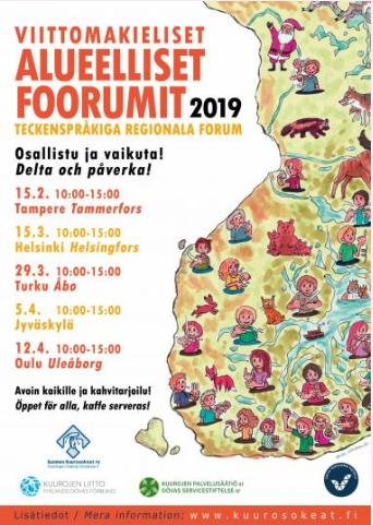 Aluefoorumit Turussa, Jyväskylässä Ja Oulussa Toteutetaan!
