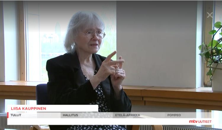 Liisa Kauppisen Videohaastattelu MTV Uutisissa