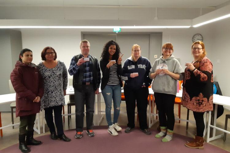 EA1-kurssi Poverin Asiakkaille Valkeassa Talossa 11. – 12.11.2019