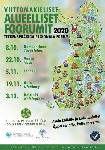 Teckenspråkiga Regionala Forum 2020
