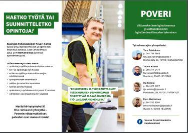 Poveri-hankkeen Esite